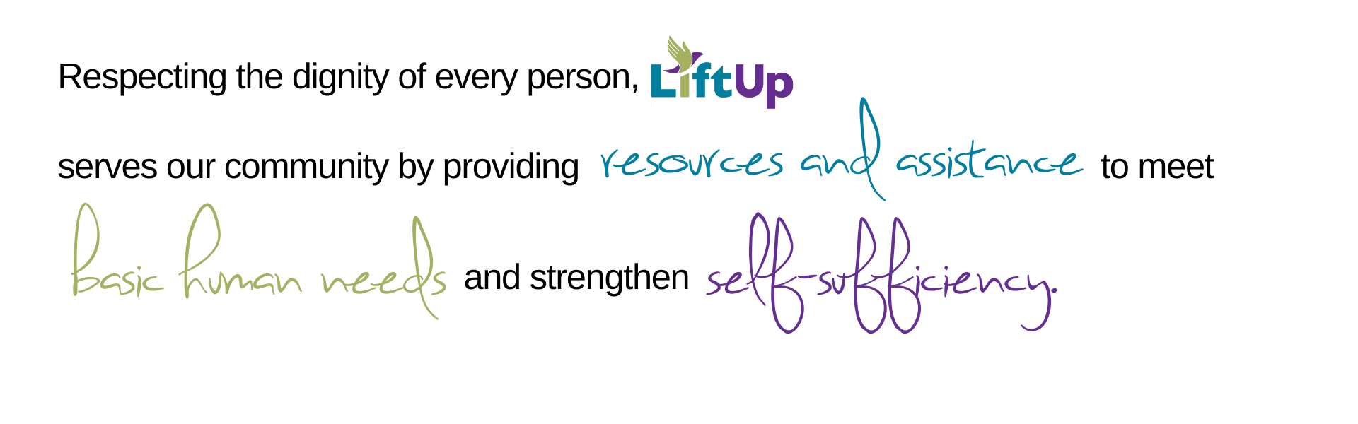 LiftUp Mission Graphic
