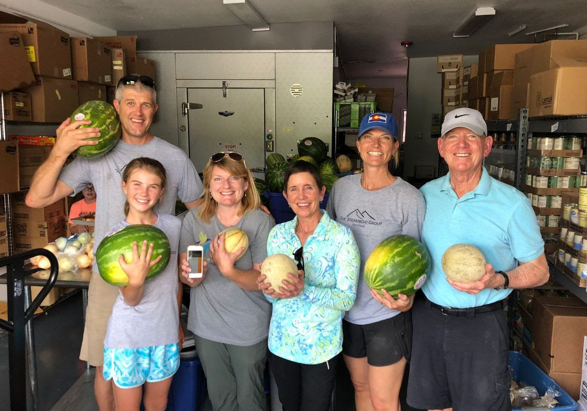 The Steamboat Group Donor-Advised Fund at Yampa Valley Community Foundation has provided vital funds to ensure we have fresh fruits and vegetables in our Food Banks.